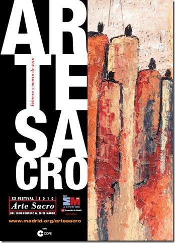cartel arte sacro 2010