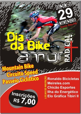 Cartaz Dia da Bike