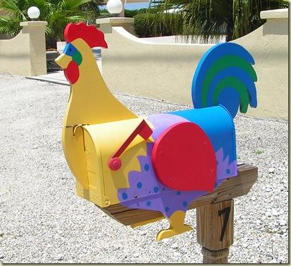 Chicken Mailbox