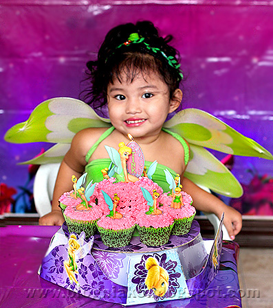Ykaie's Tinkerbell themed 3rd Birthday Party
