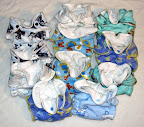 11 Newborn Boy Print Fitteds