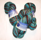Mosaic Moon Danaides Hand Painted Yarn ~1 Skein~