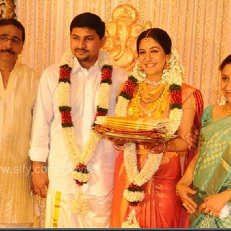 Swetha Mohan Ashwin Wedding Reception Photos