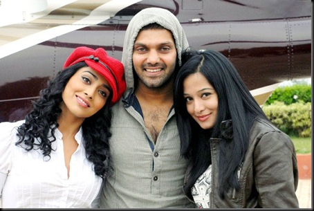 Preeta Rao with arya,shriya