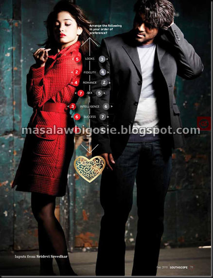 Tamanna,Allu Arjun for South Scope pictures4