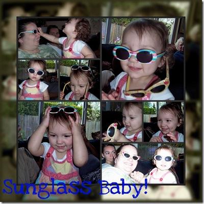 sunglass baby
