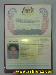 My Malaysian International Passport