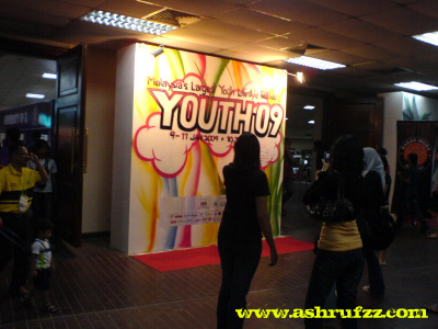 Entrance of Youth09 @ PWTC