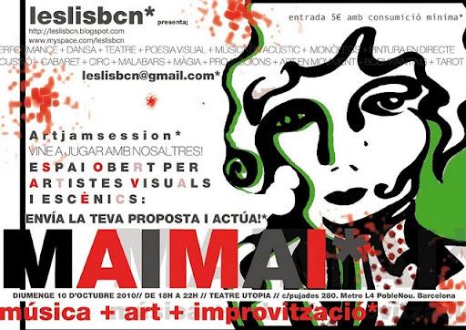 MAIMAI*música + art + improvització
