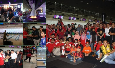 View Pertandingan Bowling amal Al ULUM -17 Mei 2011