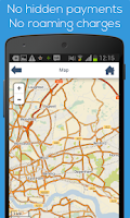 Screenshot of London offline map & guide