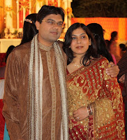 Ankita and Sanjay