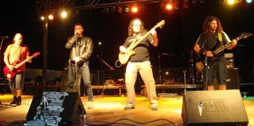 Albertencia en el II Desamparados Rock 2009