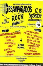 Cartel de Desamparados Rock 2010