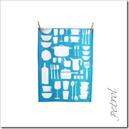 Petrol Kitchen Tea Towel