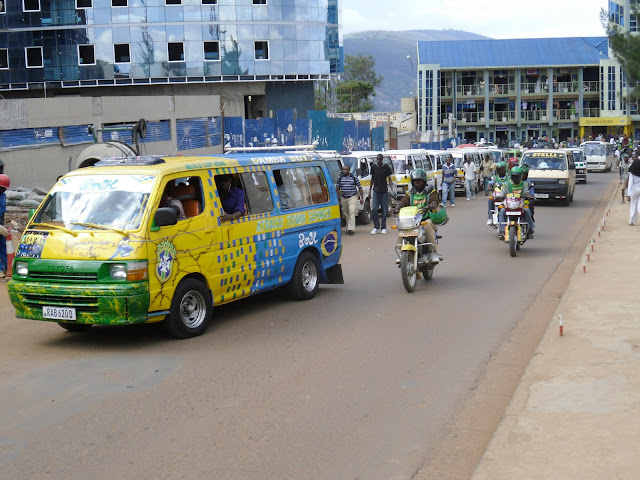 Minibus-Station in Kigali