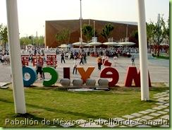 Exterior del Pabellón de México en la Expo 2010 Shanghái