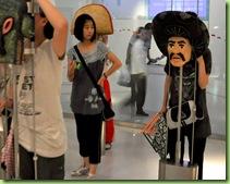 Máscaras en el Pabellón de México en la Expo 2010 Shanghái