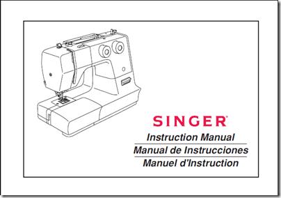 Manual máquina de coser Singer en español
