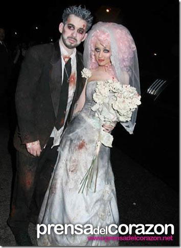 ideas para un disfraz casero de novia cadaver