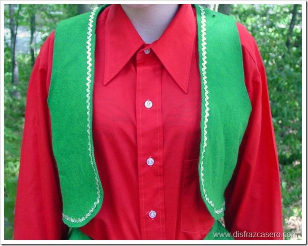 disfraz de elfo para niña disfrazcasero.com 4