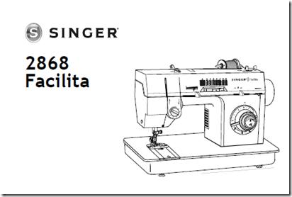 Manual en español Singer 2868 facilita