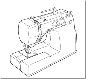 Manual gratis máquina de coser Alfa modelo 4760