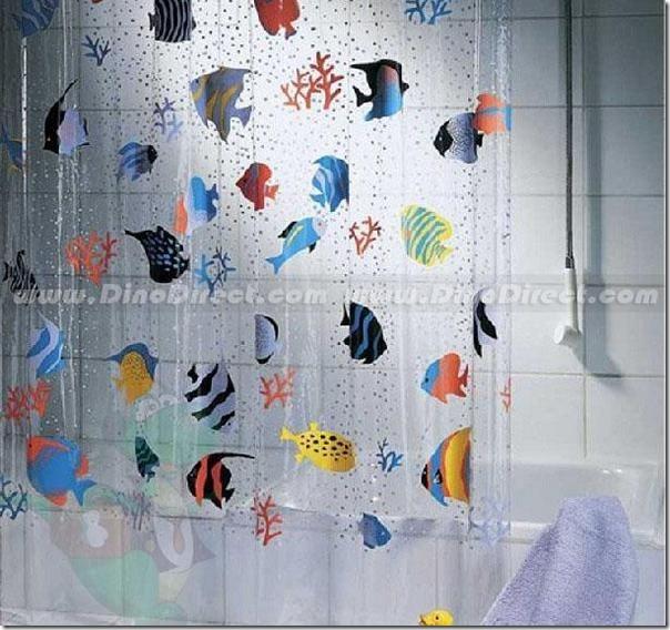 Cortinas De Baño Halloween:Cosas divertidas: Cortinas de baño divertidas