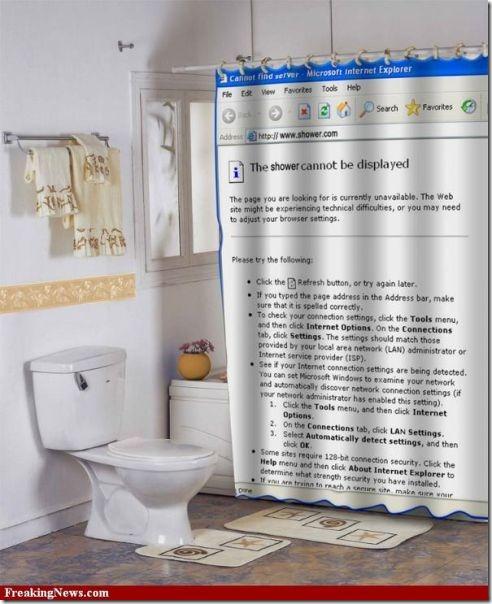 cortinas de baño divertidas (7)