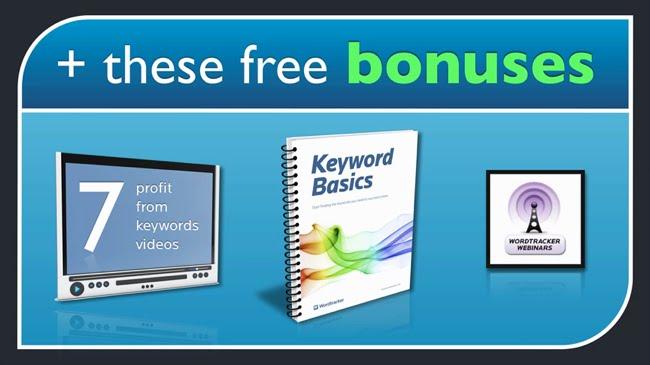 Wordtracker risk free trial bonuses