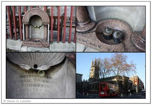 Metropolitan Drinking Fountain and Cattle Through Association-First Drinking Fountain in London