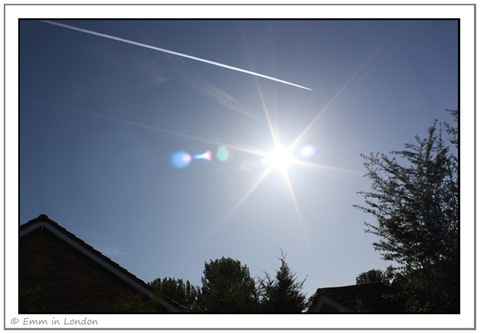 Vapour Trails and Sunshine
