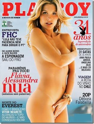 Flavia Alessandra playboy