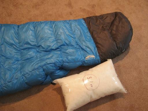 Weekend hiker: Enhancing the Golite Ultra 20 : golite down quilt - Adamdwight.com