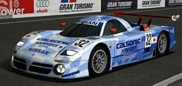 Nissan R390 GT1 Race Car
