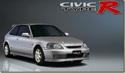 Honda Civic Type R 98