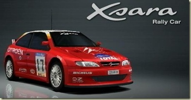 Citroen Xsara Rally car