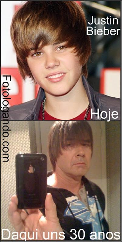 Justin Bieber daqui 30 anos - Fotologando
