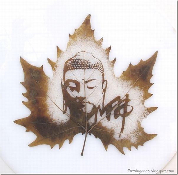 Desenho em folhas secas (12)