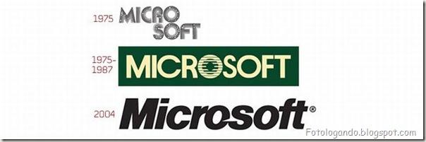 Mudanças de Logotipos ao longo do tempo (20)