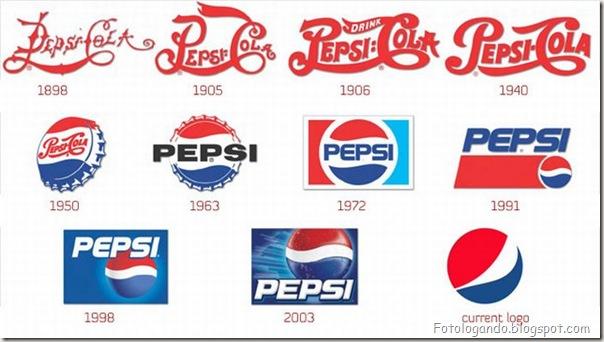 Mudanças de Logotipos ao longo do tempo (9)