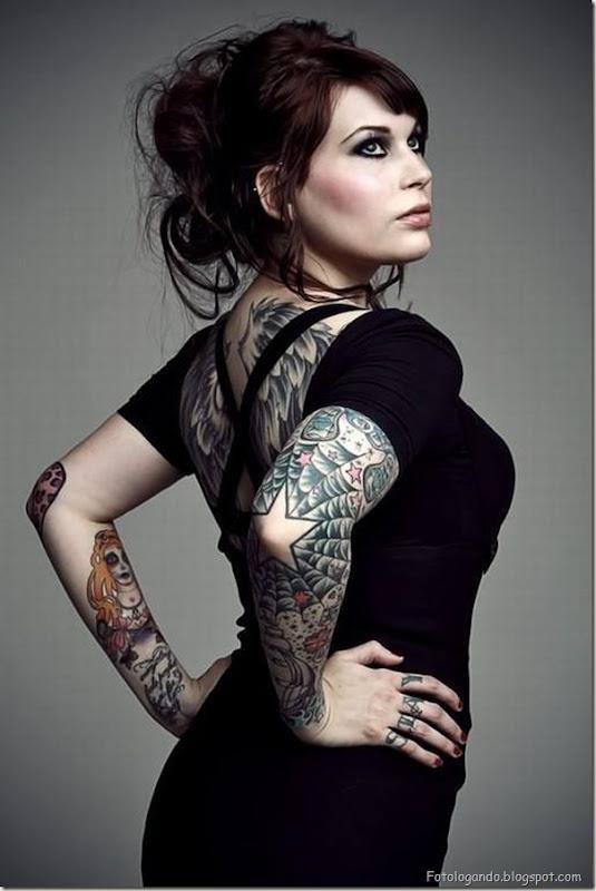 Compilação de meninas com tatuagens (24)