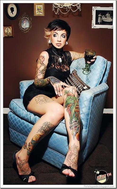 Compilação de meninas com tatuagens (21)