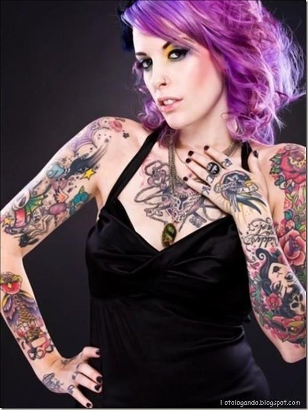 Compilação de meninas com tatuagens (18)
