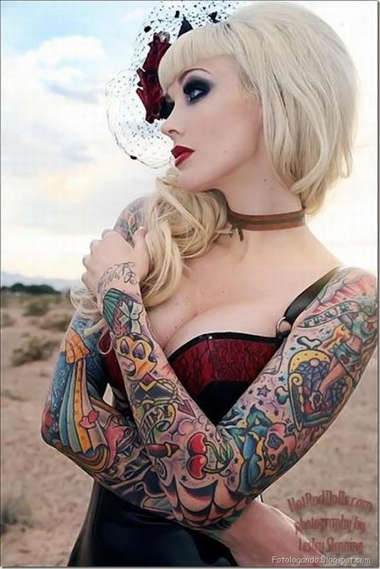 Compilação de meninas com tatuagens (6)