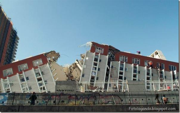 Fotos do Devastador terremoto no Chile (2)