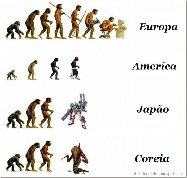Diferentes tipos de evolução (4)