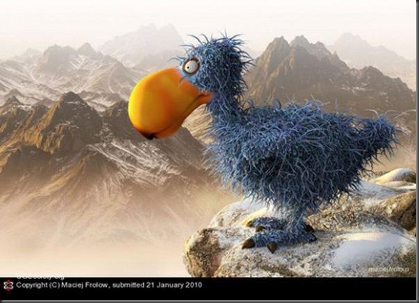 Criaturas divertidas em 3D (33)