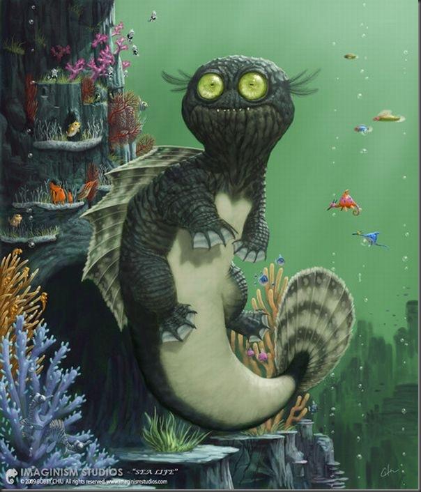 Criaturas divertidas em 3D (17)