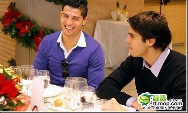 A bela amizade de Cristiano Ronaldo e Kaká (16)